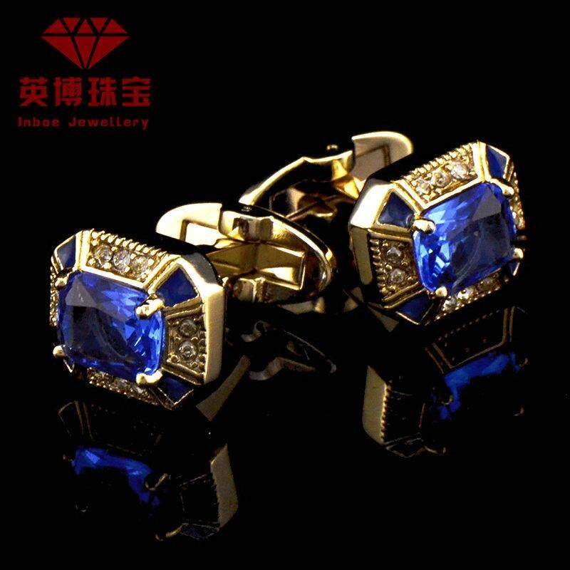 Yingbo French-Style Metal Cufflinks By Taobao Collection.