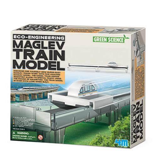 ของเล่น 4M Eco Engineering - Maglev Train Model
