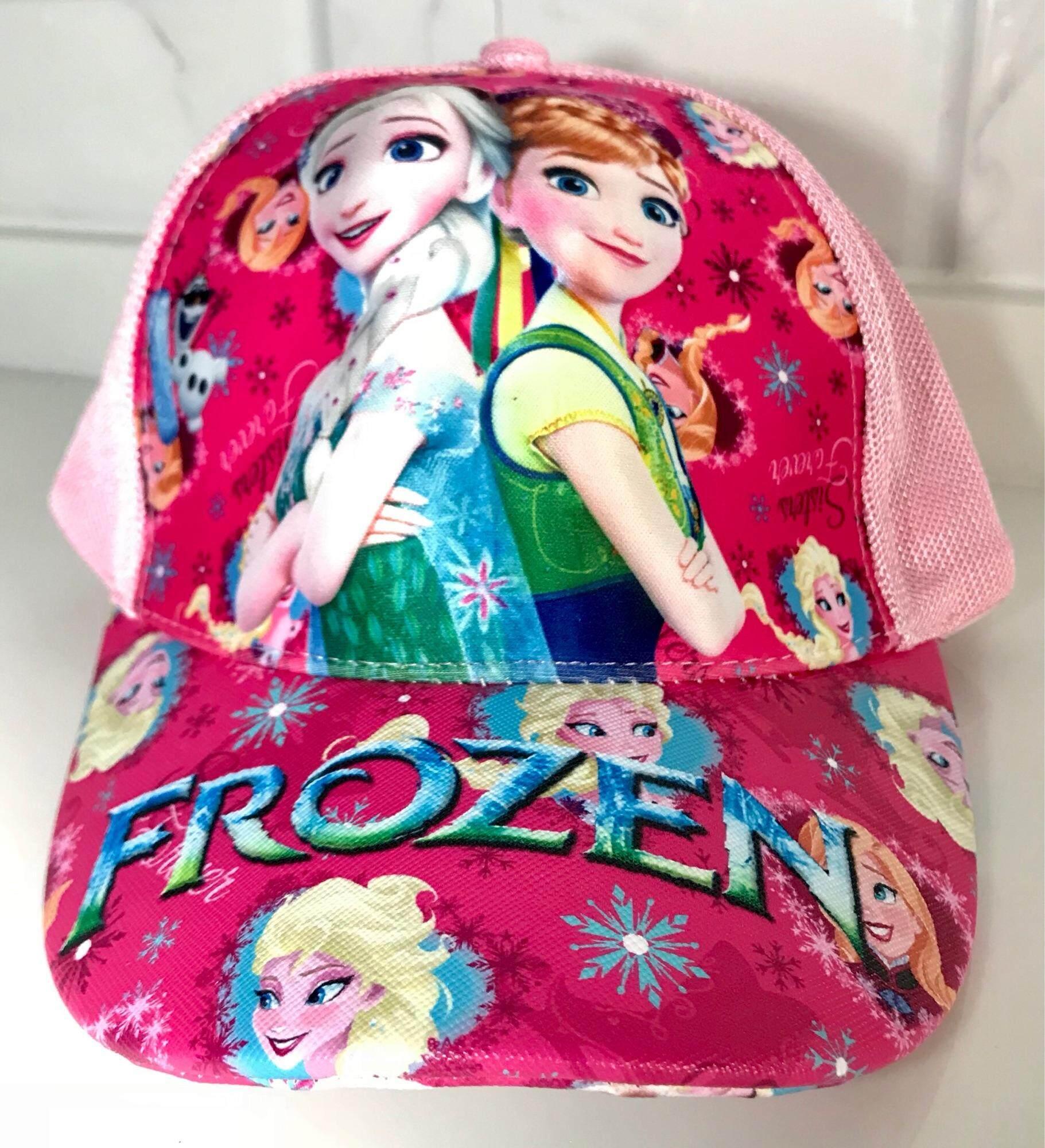 Frozen-หมวกลายโฟเซ่น