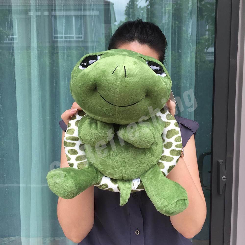 ตุ๊กตาเต่าแซมมี่ (sammy Turtle Doll) เต่าแซมมี่ ขนาด 12 นิ้ว (สีเขียว) สินค้าผลิตในประเทศไทย.