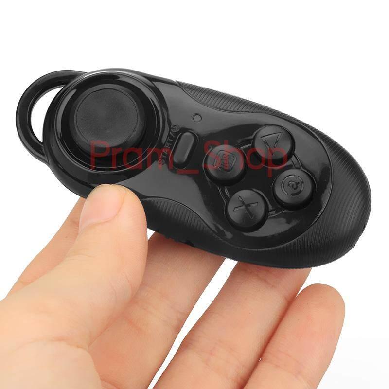 รีโมท Bluetooth ขนาดเล็ก 4 In 1 ใช้เป็น Remote Gamepad ควบคุมเกมส์ Joystick สำหรับ Vr เกมส์.