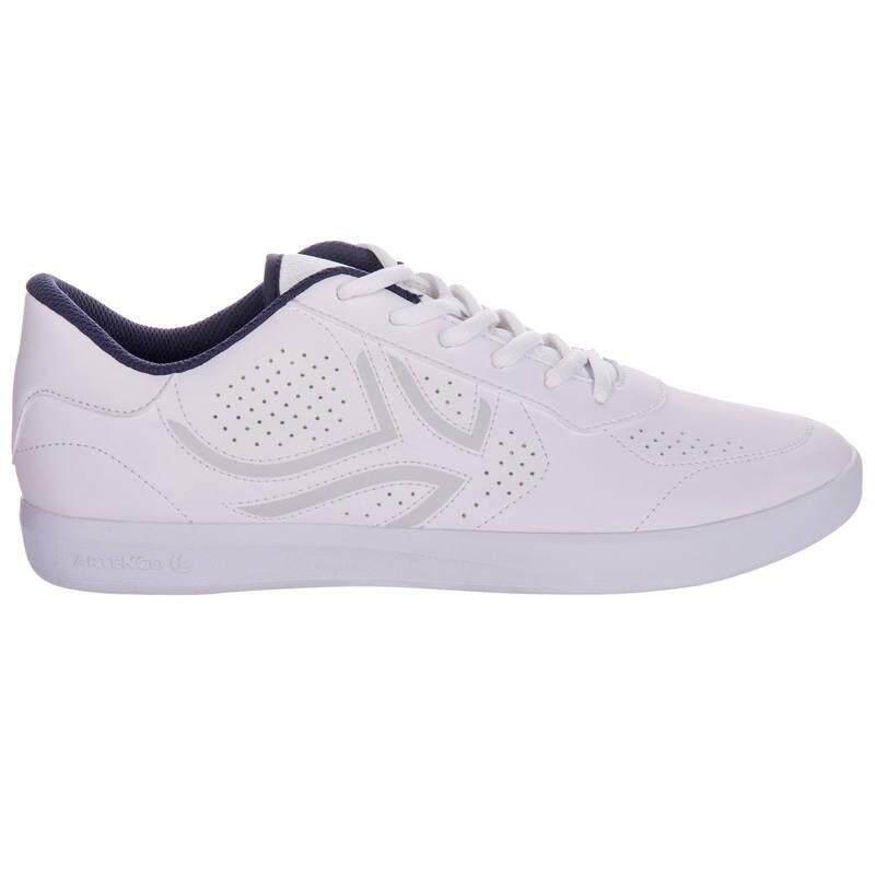 รองเท้าเทนนิสแบบผูกเชือกรุ่น Ts700 (สีขาว).