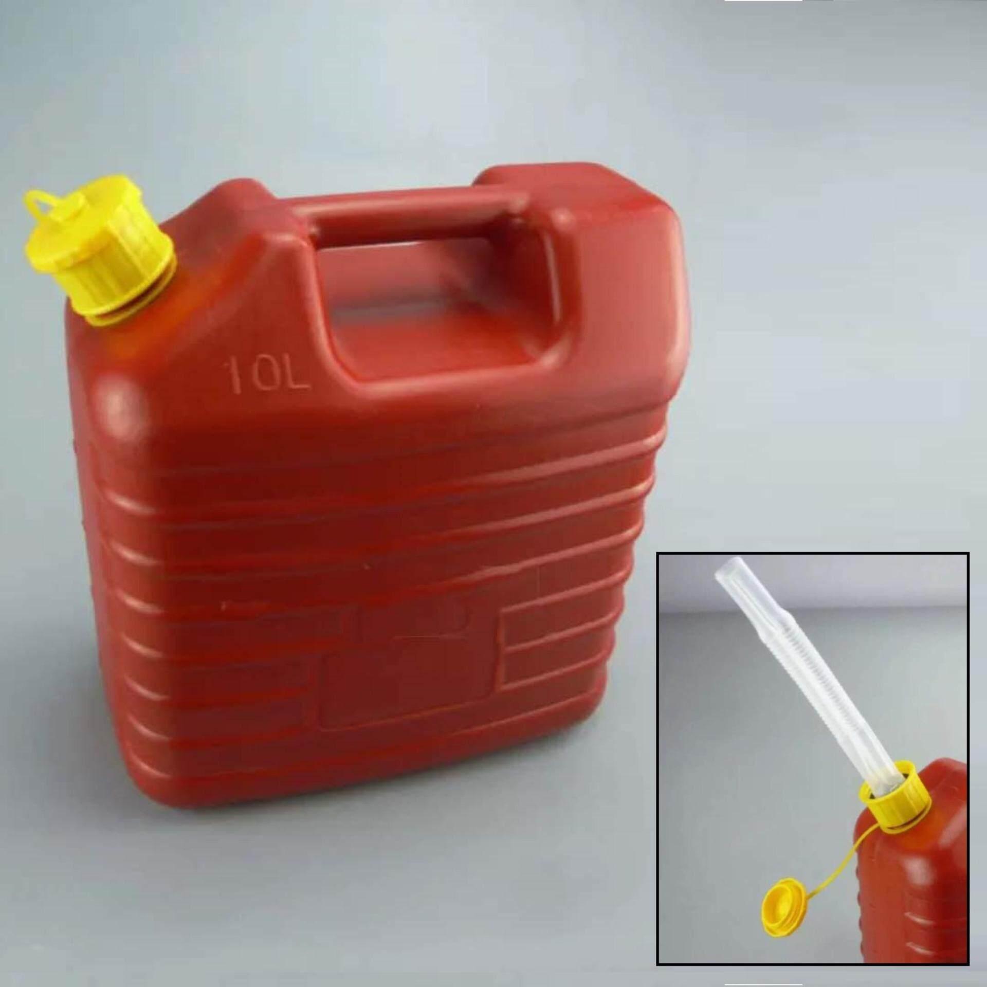 ถังน้ำมัน แกลลอนน้ำมัน 10 Litre Fuel Tank.