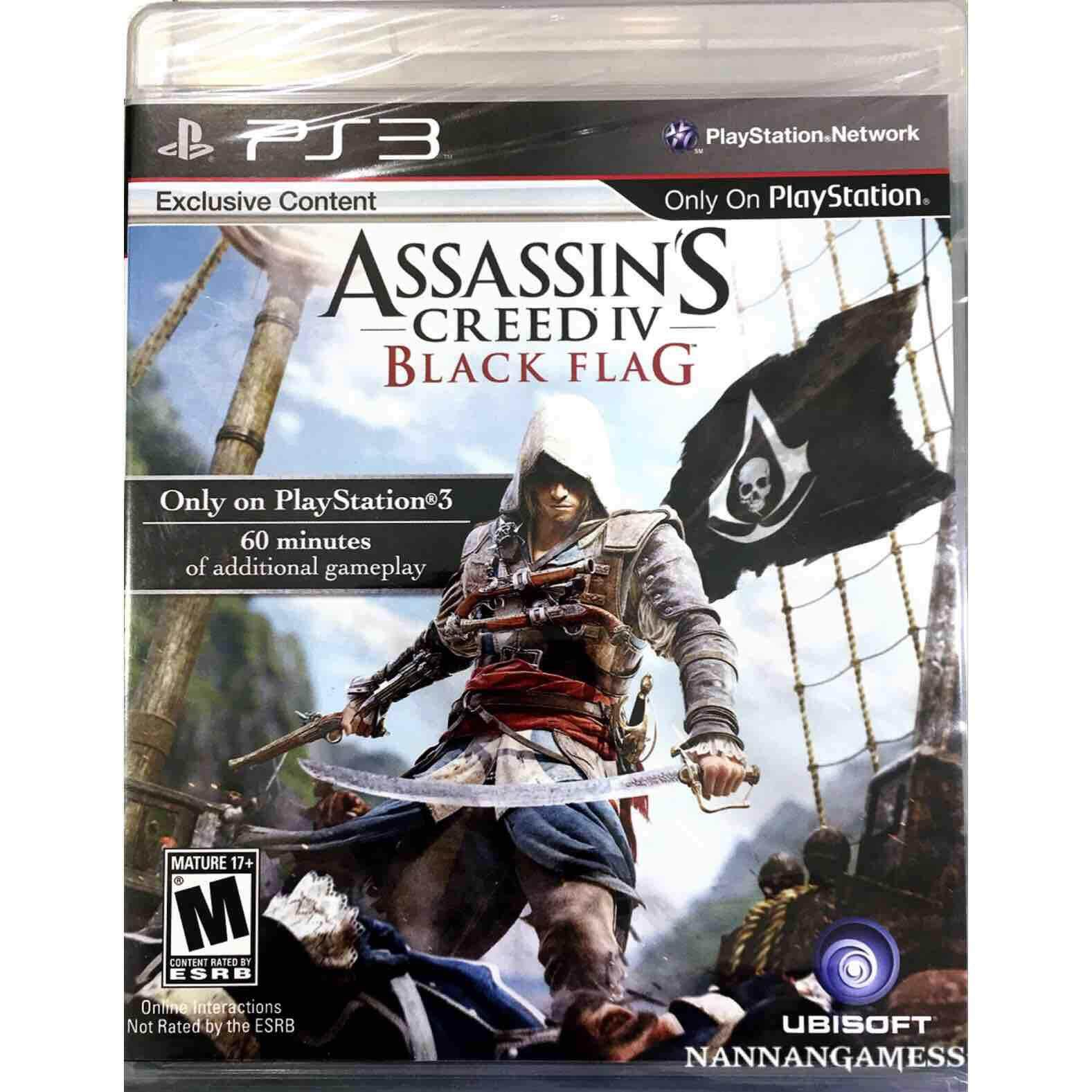 PS3 Assassin's Creed IV Black Flag ( English )