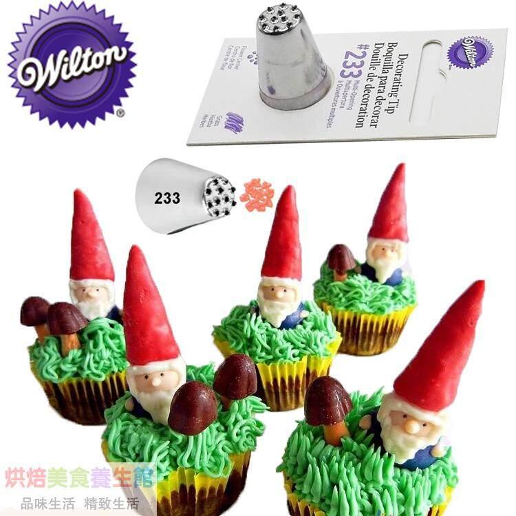 goods america wilton wilton bakery pattern decorating tool flower tip 233 lawn nap effect