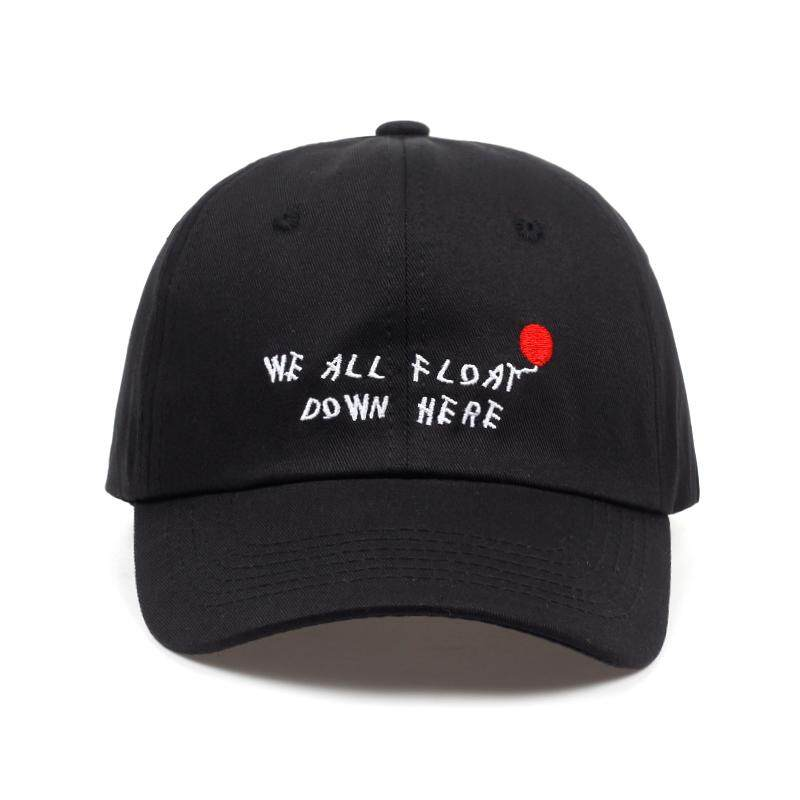 2018 new arrival we all flot down here letter embroidery baseball cap men  women snapback Hip c2cee7a79979
