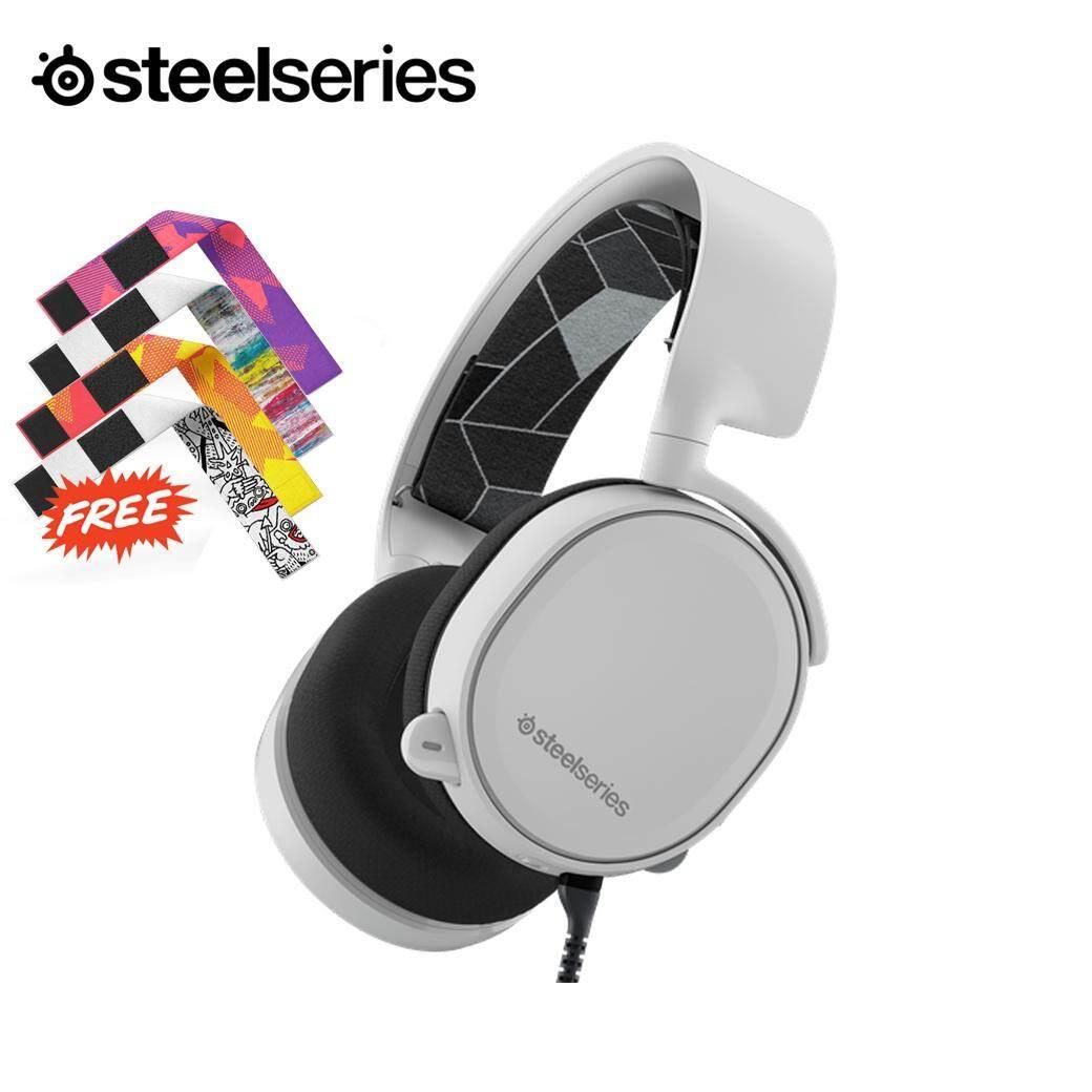 SteelSeries Arctis 3 Gaming Headset (White) แถมฟรี Headband 1 ชิ้น