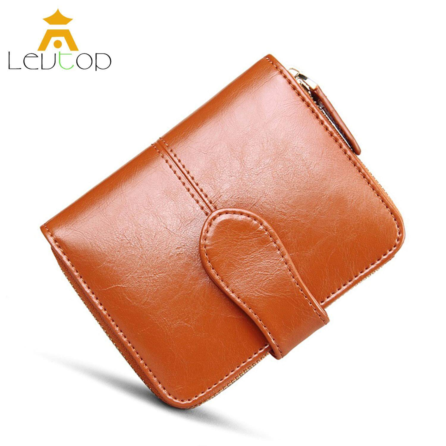 2bd5aa6bab LEVTOP Women Small Wallet Purse Card Holder PU Leather Sling Mini ladies  wallet Coin Pocket Zipper