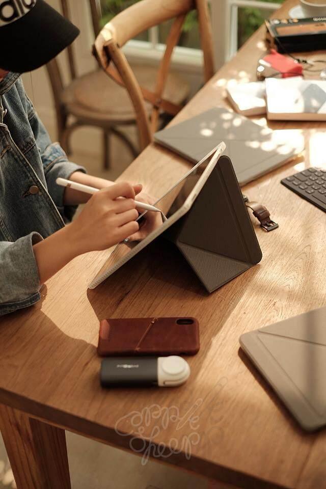 เคสไอแพดโปร 10.5 เก็บปากกาได้ รุ่น Sheep Origami / iPad Pro 10.5 with Pencil Holder