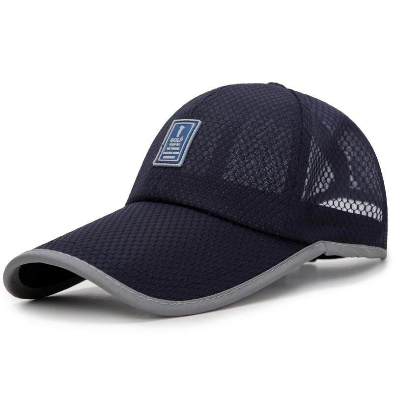 Topi Pria Musim panas mata jaring topi bisbol Gaya Korea Luar rumah  perlindungan UV pelindung sinar 8aa7189f76