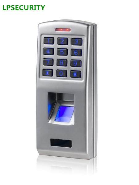 LPSECURITY Standalone Door Lock System Fingerprint reader scanner keypad password code Access Control machine