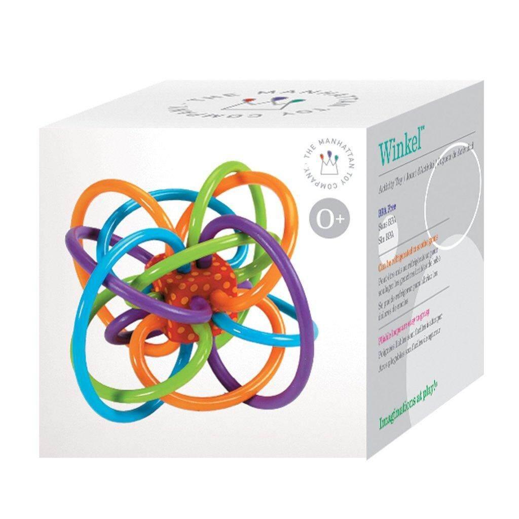 ยางกัด Winkle Manhattan Toy ของเล่นเสริมพัฒนาการช่วยนวดเหงือกให้ลูกน้อย.