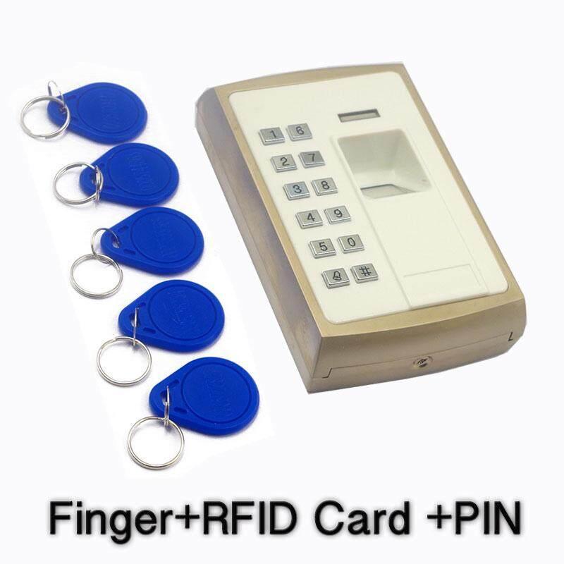 Metallic Casing Outdoor Thumb Access Control Fingerprint Door Access Device Biometric Register Keypad RFID Reader 1000Users - intl