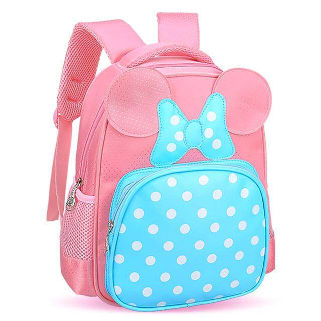 Kindergarten School bag bags Girls 2-5 a Year of Age Preschool in Large  Class 887afe48f206e