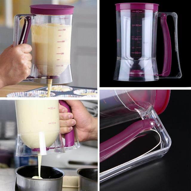 ที่หยอดแป้งทำขนม อุปกรณ์หยอดแป้ง สีม่วง.
