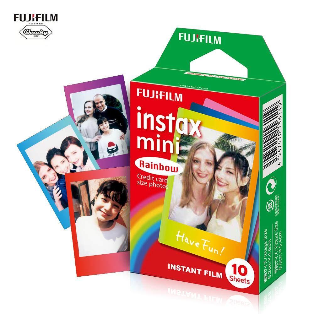 Giá Fujifi-Lm Instax Mini 10 Tờ Đầy Màu Sắc Cầu Vồng Bộ Phim Ảnh Giấy Ảnh Chụp Album Ngay In Hình Cho Fujif-Ilm instax Mini 7 S/8/25/90/9