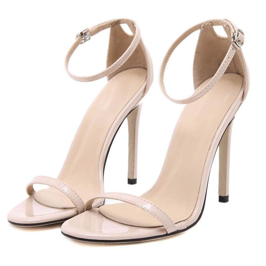 430e1163e Women Fashion High Heel Sandals Lady Stiletto Heels Wedding Shoes