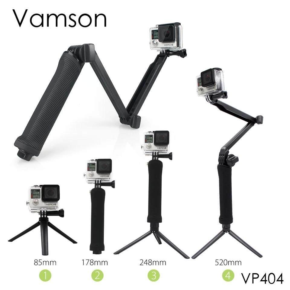 JX ซลฟี่สำหรับกล้อง Action Cam / 3 Way Selfie Handheld Stick / สำหรับ Gopro/SJCam/Xiaomi Yi/ ปรับเปลี่ยนรูปแบบได้ 3 ทาง ไม้เ ใช้งานได้สะดวกที่สุด