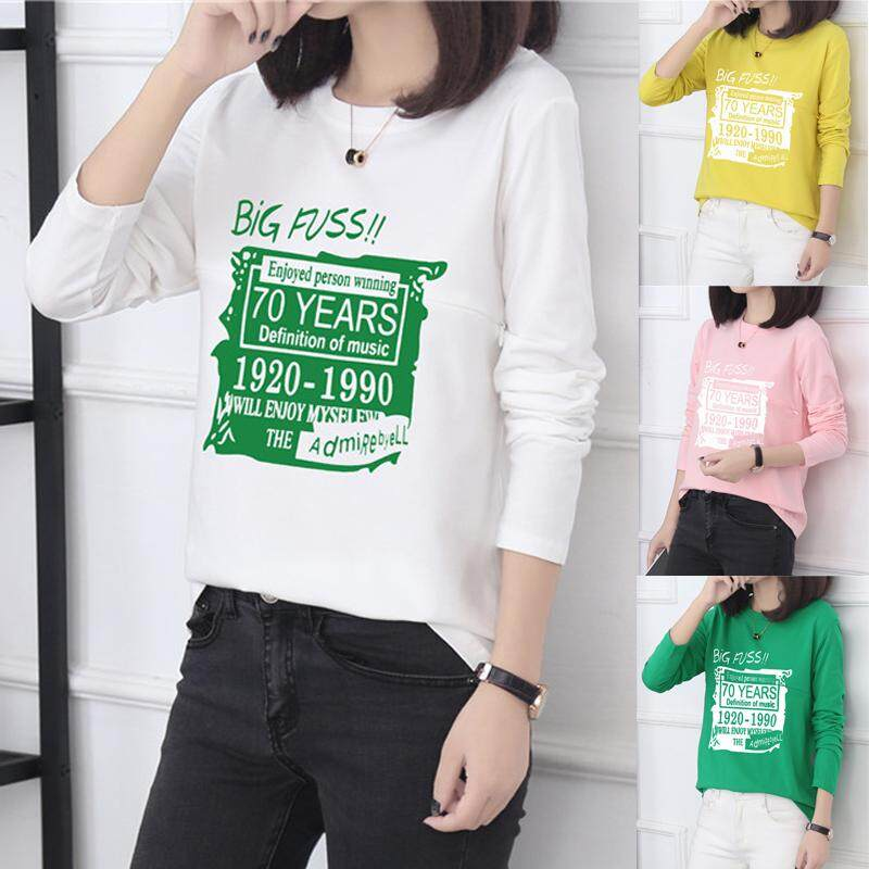 4f1231ede01 Autumn Nursing T-shirt Long Sleeve Pure Cotton out Fashion Breast Milk Tops  Loose Slimming