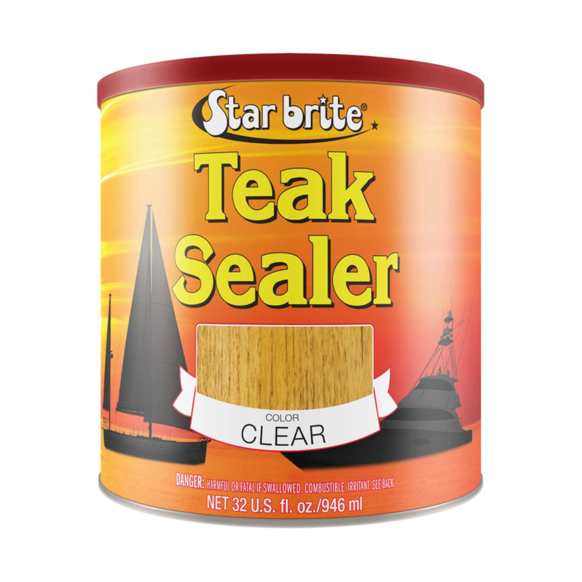 ทรอบปิคัลน้ำมันดูแลรักษาเนื้อไม้ สีใส 32ออนซ์ Starbrite 88032 Tropical Teak Sealer Clear (950ml) 32 Oz..