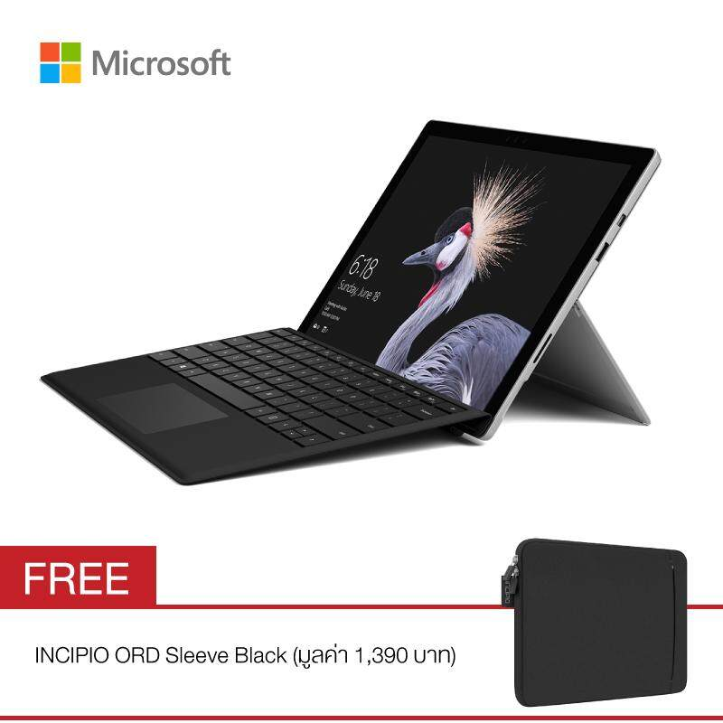 Microsoft New Surface Pro Core i5-256GB/8GB Bundle with Type Cover Pro Black FREE INCIPIO Sleeve Black