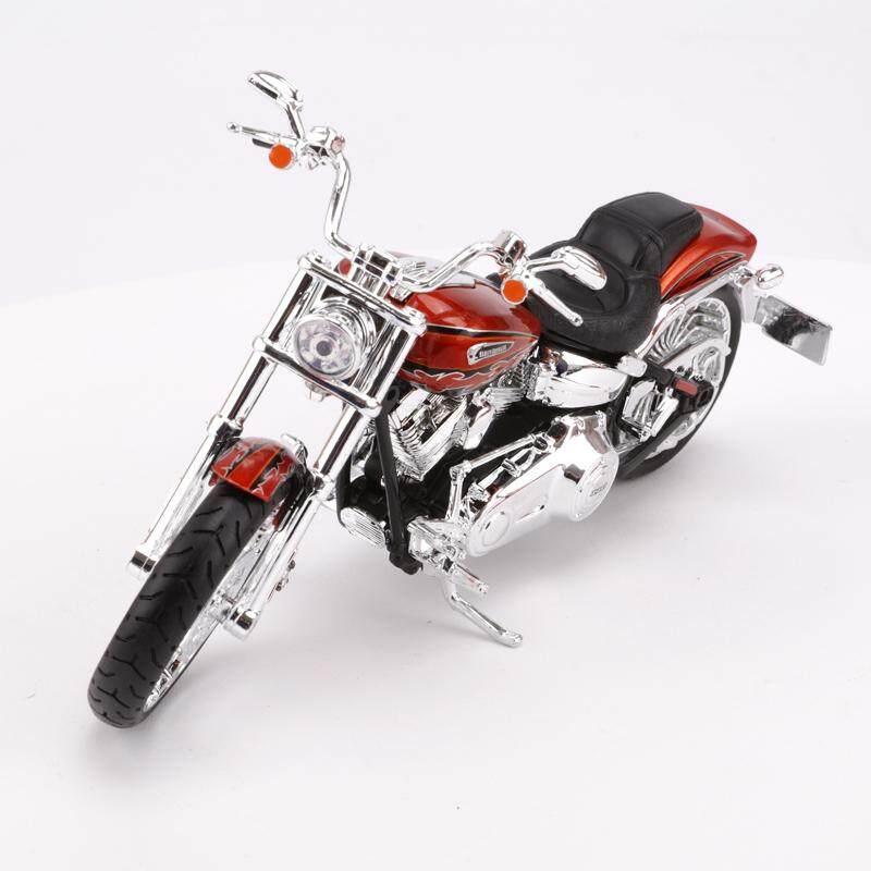 Maisto 1:12 Harley Sepeda Motor Model Terobosan Oleh Miniatur Logam Campuran Sepeda Motor Sentuhan