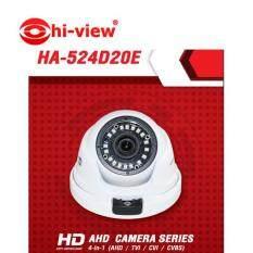กล้องวงจรปิดไฮวิว HA-524B20 2MP รองรับทุกระบบ สีขาว ทรงโดม