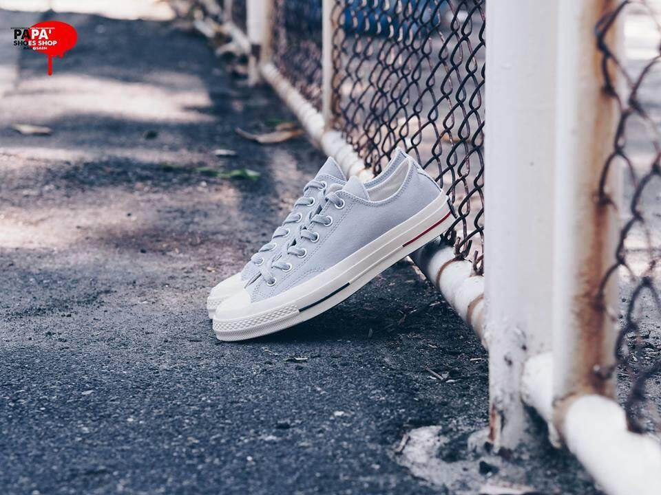 ce601a4aace ถูกที่สุดในวันนี้ Converse All Star Chuck taylor 1970 s  Heritage Court  ox  - Wolf Grey buy - มีเพียง ฿2