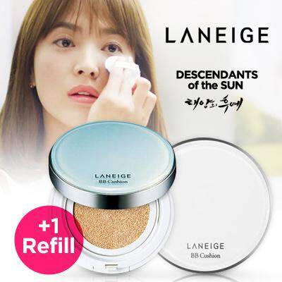 Laneige Snow Bb Whitening Soothing Cushion Spf50 With Refill Pack (พร้อมส่ง).