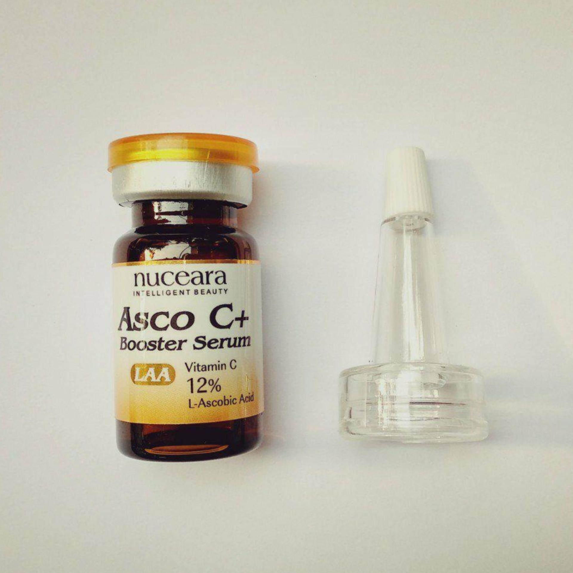 ราคา สูตรใหม่ Nuceara Asco C Booster Serum เซรั่มวิตามินซีบริสุทธิ์ Laa Co Synergy Empower C Technology ใน กรุงเทพมหานคร