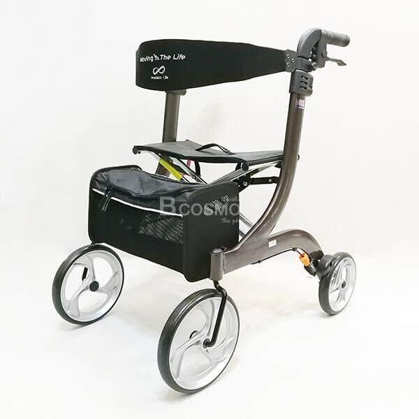 สุดยอดสินค้า!! Wheelchair Rollator รถเข็นหัดเดิน 2in1