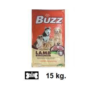 Buzz อาหารสุนัขโต รสแกะ  ขนาด 15kg.