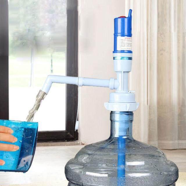 เครื่องปั๊มน้ำ ที่กดน้ำดื่มอัตโนมัติ ที่กดน้ำดื่มไฟฟ้า - Blue.