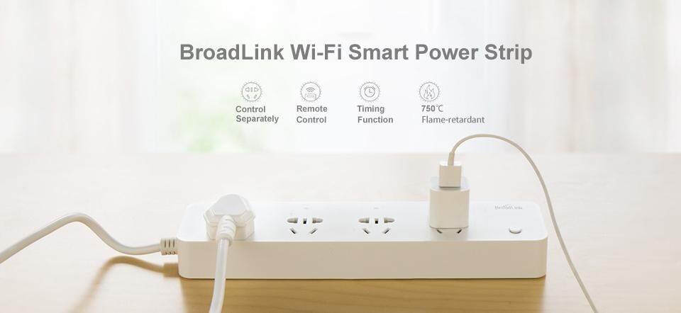 สมาร์ทปลั๊ก Smart Plug 4 in 1 Broadlink MP1 - DMS Smart