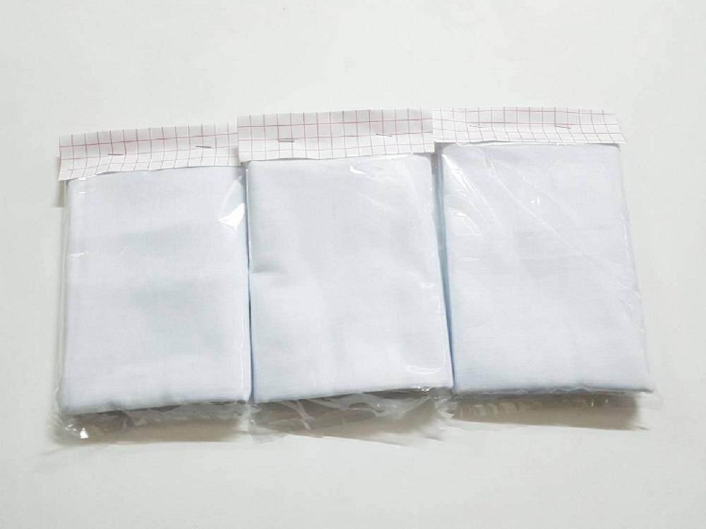 ผ้าขาวบาง ผ้ากรองใช้ประกอบอาหารคาว-หวาน  3 หลา ( 3 ผืน )