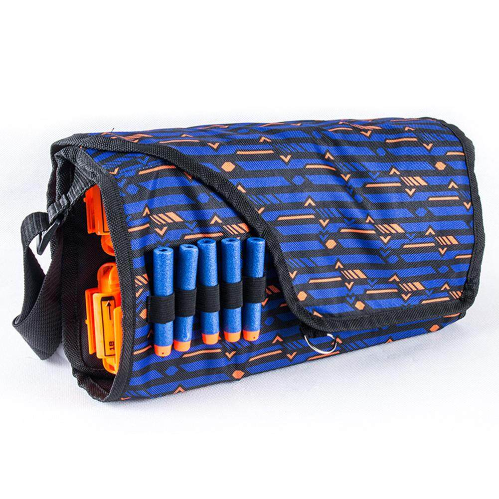Children Military Toy EVA Bullet Storage Bags Kids Tactical Equipment Gun Accessories Multifunctional Large Capacity Clips Pouch For Nerf Gun