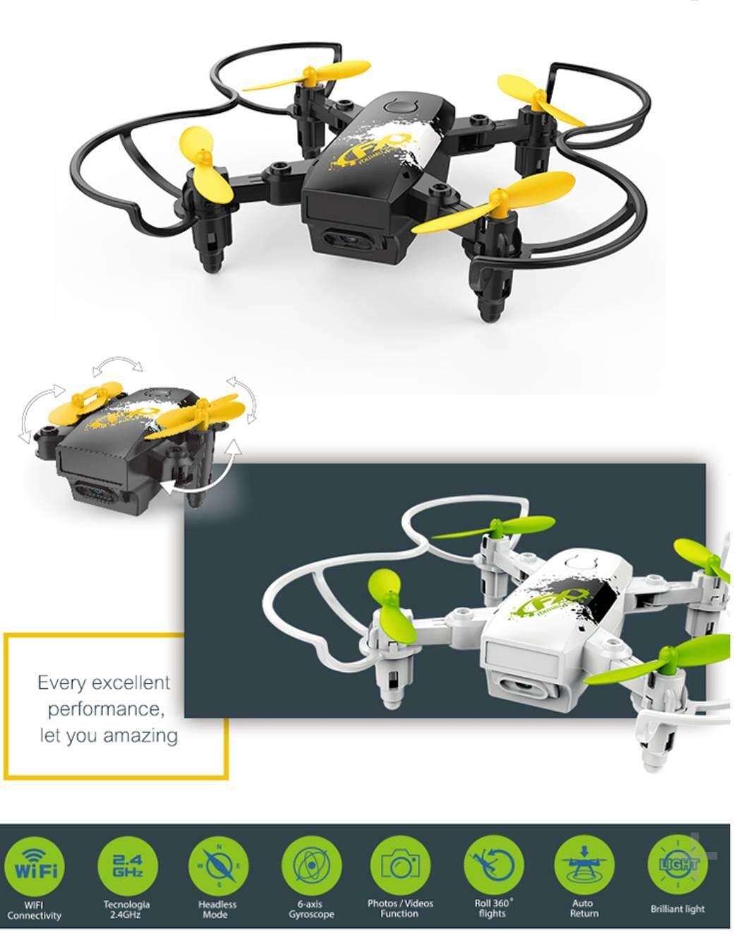 Drone Mini Lh-X30 โดรนจิ๋วพับได้พร้อม ระบบล๊อคความสูง.