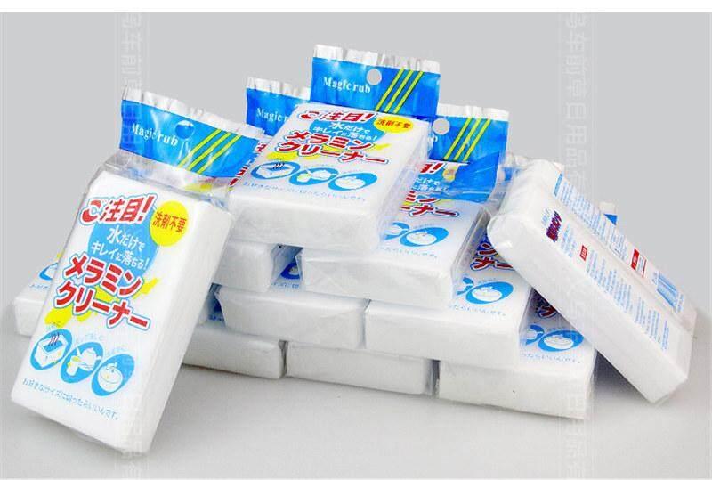 10 ชิ้น 49 บาท - ฟองน้ำนาโน ฟองน้ำทำความสะอาด ฟองน้ำเมลามีน ฟองน้ำมหัศจรรย์.