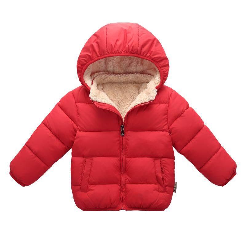 Pakaian musim dingin item baru anak-anak Bulu angsa pakaian katun pakaian musim  dingin Tambah daf0decfb3