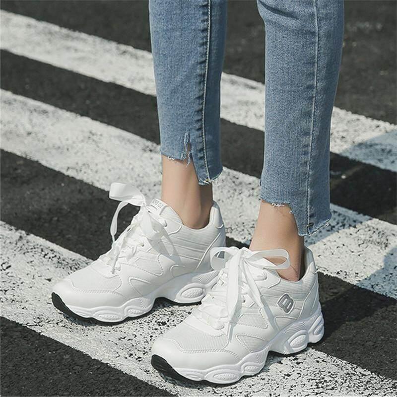 Putih sepatu olahraga 2019 model baru musim semi Gaya Korea netral murid  Sepatu olah raga casual c28f43bf71