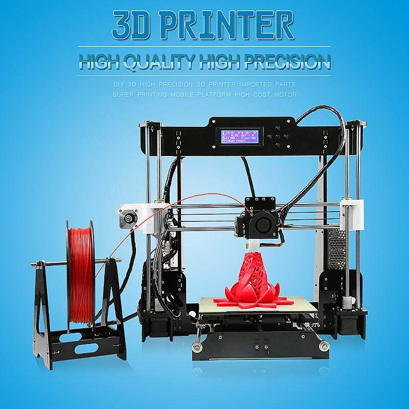 【flash Deal】anet A8 3d Print Machine Precision Reprap Prusa Kit 1.75mm 0.4mm Abs/pla/hips/wood/pva -Intl