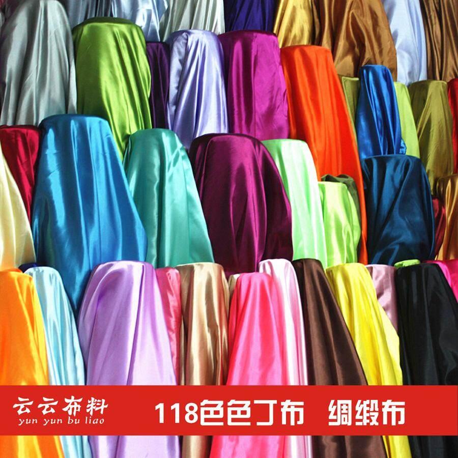 Satin kain bahan Warna Polos satin kostum pakaian adat Tiongkok kostum  Dinasti Tang Cheongsam Gaun 1efe10b612