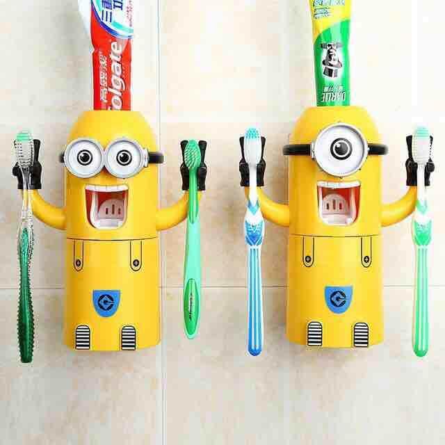 Flash Sale ที่บีบยาสีฟัน มินเนี่ยน Minions 2 ตา.