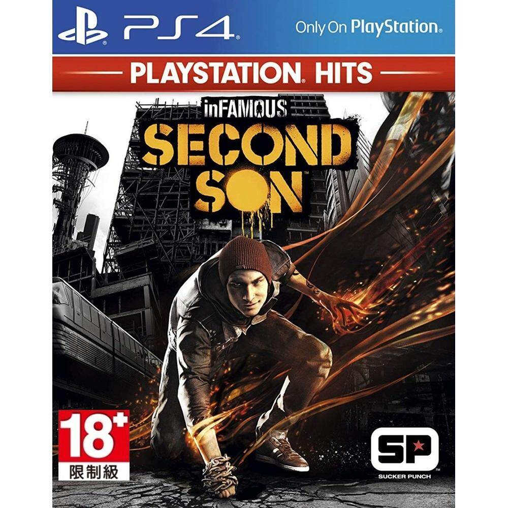 PS4 : Infamous - Second Son [Asia]
