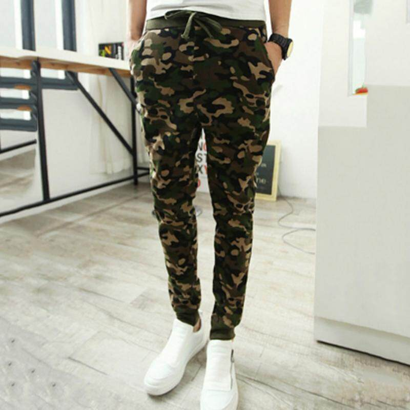 804a50c595d6 Lightnice Men s Casual Jogger Sportwear Pants Sweatpants Running Sports  Drawstring Trousers