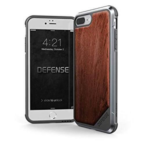 x-doria Defense LUX Wood Case For iPhone 7 Plus /8 Plus