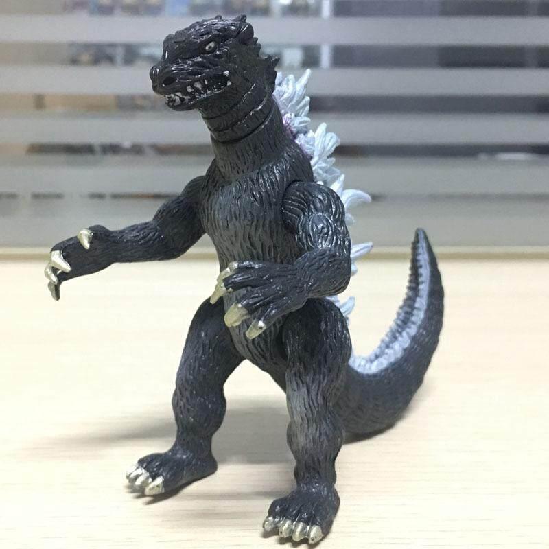 Godzilla ornamen tangan untuk melakukan telur asin Superman rakasa boneka model dinosaurus mainan anak atas nama Peach grosir