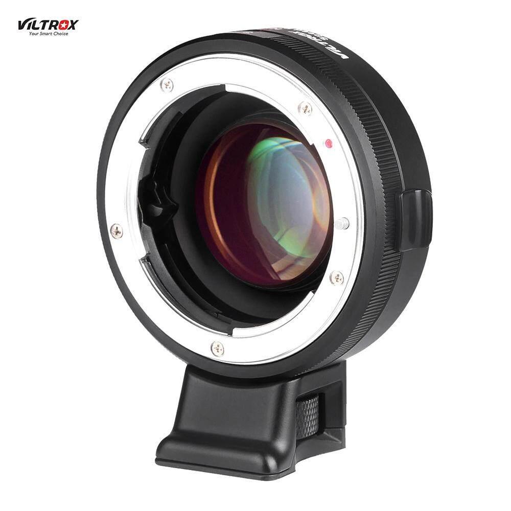 VILTROX NF-E Manual Fokus F Mount Adaptor Lensa Telecompressor Fokus Peredam Kecepatan Booster untuk Sony NEX-F3/N3/3/ c3/5/5C/5D/5N/5 K/5 T/5R/6/ 7/A7/A7-2/A7R/A7S/A5000/A6000 E-Kamera Pasang-Intl