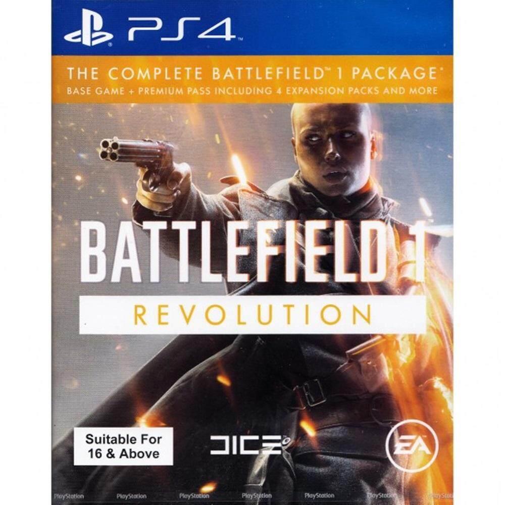 PS4 : Battlefield 1 Revolution Edition [Asia]