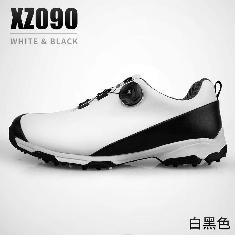 Item Baru! Pgm Golf Sepatu Bola Pria Tahan Air Sepatu Sepatu Olahraga Ganda Paten Berputar Gesper Sepatu By Koleksi Taobao.